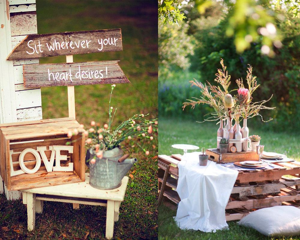 Ideas para decorar tu boda letras chic hunting - Decoracion bodas ...